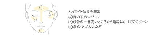【アクセーヌ】フェイスカラーハイライトH02(クリームイエロー)