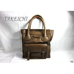[Chloe] Calf ★ Vertical tote bag ● Brown [Used] [TAKEICHI] [Station store] e3573