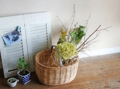 アナベルとミモザのブーケ*人気のアナベルとミモザのドライフラワーを使ったシンプルで素朴なデザインのブーケ/インテリアアジサイラベンダーナチュラルディスプレイギフトプレゼントアレンジ花母の日スワッグ