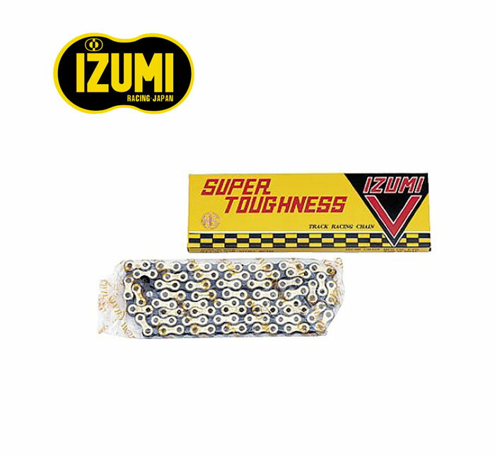 "IZUMI-Izumi for fixie chain bicycle chain 1/8 "":GD/BK"