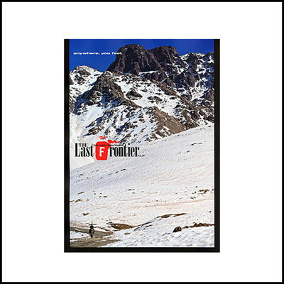 THELASTFRONTIER 20 ザラストフロンティア BACK COUNTRY SKIING MAGAZINE BACKCOUNTRY SNOW SNO...
