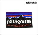 PATAGONIA ステッカー パタゴニア CLASSIC PATAGONIA : 10cm x 6.4cm☆国内正規品☆【メール便対応可】 パタゴニア
