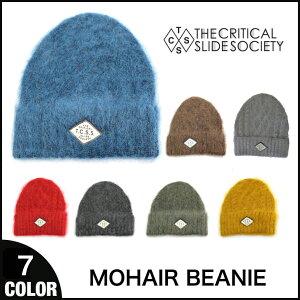 TCSS / THE CRITICAL SLIDE SOCIETY クリティカルスライドソサエティー MOHAIR BEANIE モヘアビーニー 全7色 帽子
