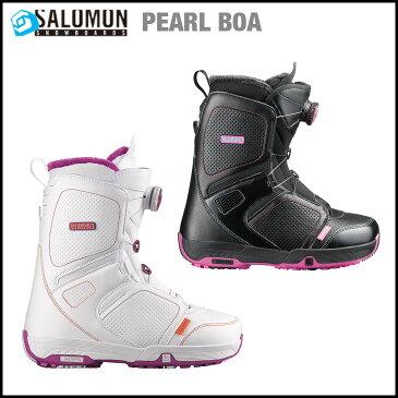 SALOMON SNOWBOARD BOOTS サロモン ブーツ PEARL BOA : 各色 【正規品】【送料無料】【!】【セール品】【型落ち】