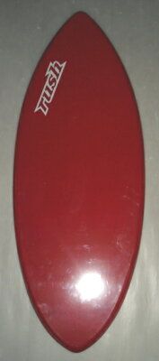 132cm格安スキムボードRUSHSKIMBOARDS赤