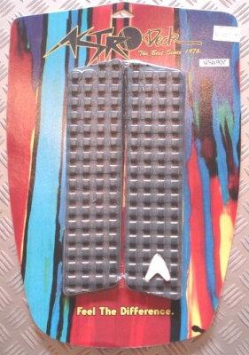 ASTRODECKアストロデッキフロントデッキパッドネイザンフレッチャーフロントNATHANFRETCHER黒ブラックSKIMBOARDスキムボードに最適!