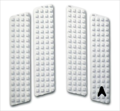 ASTRODECKアストロデッキフロントデッキパッドNATHANFRETCHER白ホワイトSKIMBOARDスキムボードに最適!