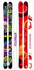 STRICTLY SKI YOUNG GUNストリクトリー スキーヤングガン2017/18 17-18138,148,158フリースキー フリースタイルススキー 送料無料!激安