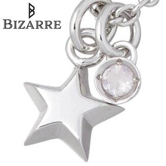 【NEW】Bizarre【ビザール】エトワールシルバーネックレススター星ローズクォーツ誕生石レディース