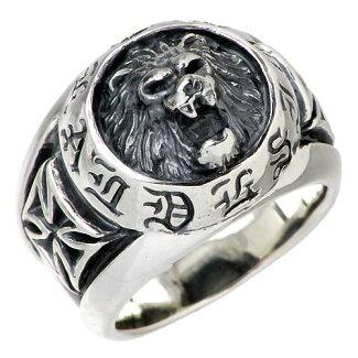 [DEALDESIGN]【ディールデザイン】NEWラージライオンシルバーリング指輪