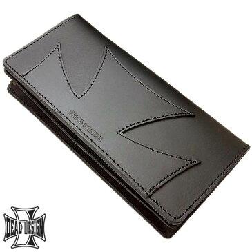 【ディールデザイン】DEAL DESIGN ハーフクロス ロング ウォレット メンズ 長財布 サイフ 390267