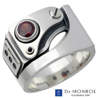 DrMONROE【ドクターモンロー】シルバーリングメンズストーンSV925Silver指輪11~27号