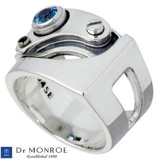[DrMONROE]【ドクターモンロー】(FC-104SE-SV)シルバーリング/メンズ/ストーン/SV925/Silver/指輪/11~27号【ラッピング無料】