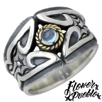 [FlowerPueblo]【フラワープエブロ】ブリリアントシルバーリング指輪