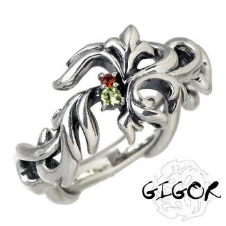 GIGOR【ジゴロウ】プラールシルバーストーンリング指輪