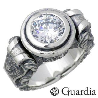 Guardia【ガルディア】Asterシルバーリング指輪キュービック17~19号