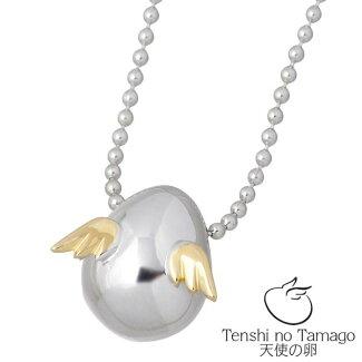 【天使の卵】TenshinoTamagoシルバーネックレス