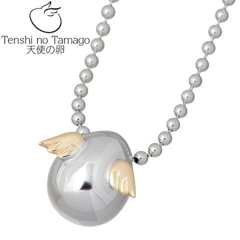 【天使の卵】 Tenshi no Tamago ネックレス レディース シルバー ジュエリー ロジウム加工 950 ブリタニアシルバー tenshi-1150RM