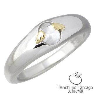 【天使の卵】TenshinoTamagoストーンシルバーリングキュービック指輪7~15号