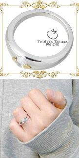 【天使の卵/TenshinoTamago】天使の卵ストーンシルバーリング/天使219CZ/キュービック/指輪/7~15号【ラッピング無料】RCP