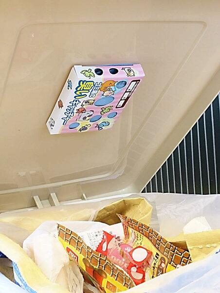 臭いキャッチャー(2個組・12か月分)× 3個  520円 (ゴミ箱の蓋に貼る脱臭剤・旭化成セミア使用)ゴミ箱分別3段脱臭剤消臭