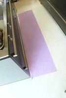 台所マット(乾燥消臭剤のマット)【今あるマットの下に敷いてマットのジメジメ臭いを取ります】45cm×270cm×【2枚】【送料500円】【床の保護シート】【吸着式シート:簡単にくっ付け、はがせます】キッチンマット吸水マット