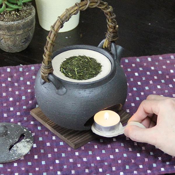 土瓶茶香炉