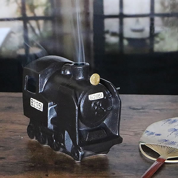 信楽焼 SL蚊遣り器