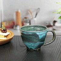 信楽焼マグカップ!蒼天マグカップ!土ものマグカップ/ビアマグ/陶器カップ/コーヒーカップ/コー…