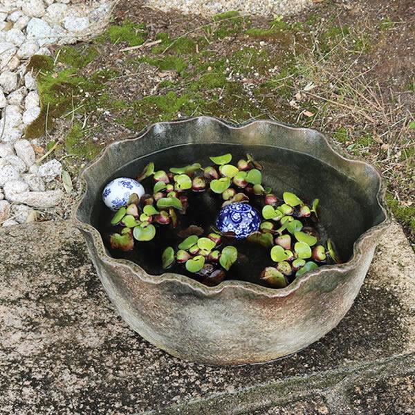 水鉢 めだか鉢 金魚鉢 手水鉢