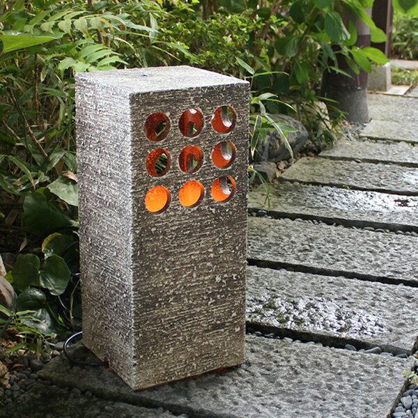 クシ目庭園灯