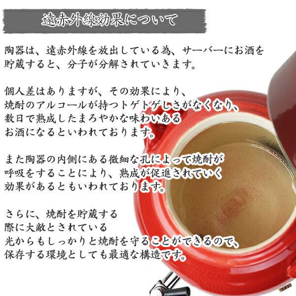 まるいち本店『信楽焼き紅陽焼酎サーバー』
