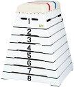 【送料無料】エバニュー とび箱 M‐100C ホワイト EVERNEW EKF306 90