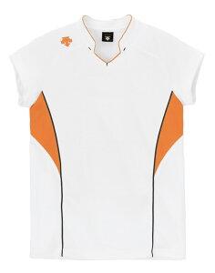 デサント フレンチスリーブゲームシャツ(ユニセックス) DSS-4833 WOR DESCENTE DSS4833 WOR