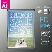 【送料無料※沖縄北海道除く】ニューウルトラライトパネルA1サイズ内照LEDポスターパネル