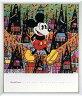 アートポスター 額入り絵画 ディズニーシリーズ作 【オブ ミッキーマウス (フィンスター)】 額縁(フレーム)・ヒモ付きですぐに飾れます