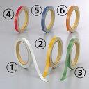 安全テープ その他テープ 反射テープ (セパ付) オレンジ 10mm幅×10m巻 2巻1組 その他テープ 安全テープ