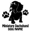 【送料無料】愛犬ネーム追加無料!20色から選んで作れる。可愛いシルエットデザイン【送料無料...