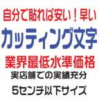 屋外耐候 カッティングシート カッティングシール カッティング文字 5センチ以下 文字 ステッカー 防水 アルファベット 数字 英語 英文字 ステッカー 表札 案内板 看板 車 カッティングシート文字 切り文字 カッティングステッカー