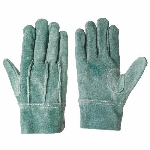 作業用手袋 革手袋 シモン オイル革手袋 背縫い 床革当て付き 特殊オイルウォッシャブル加工 強度...