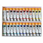 描画からネイルアートまで!【リキテックス】 アクリル絵具 ≪ソフトタイプ≫ 伝統色24色セット 6号/20mlチューブ