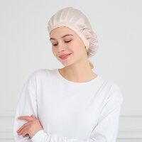 ナイトキャップ帽子シルク大きめサイズ紐付きサイズ調節可能健康安眠就寝用かわいい女性就寝用帽子お休み帽子おやすみキャップおしゃれレディース女性用快眠プレゼント誕生日贈り物ギフト髪をむすんだまま髪型くずれない美髪05P03Dec16