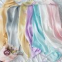 ■小ぶりの枕にも使える【シルクサテン19匁 ヒモ式まくらカバ