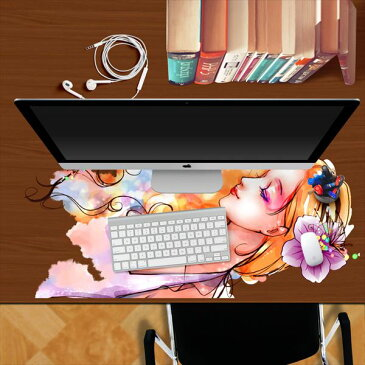 【きれいな女性】3Dオーダーメイド♪【トリックアートシリーズ】テーブルシール ポスター シール 裏が透けないタイプ♪自然 はがせる 壁紙 壁シール 防水でお風呂OK!/窓/壁紙DIY
