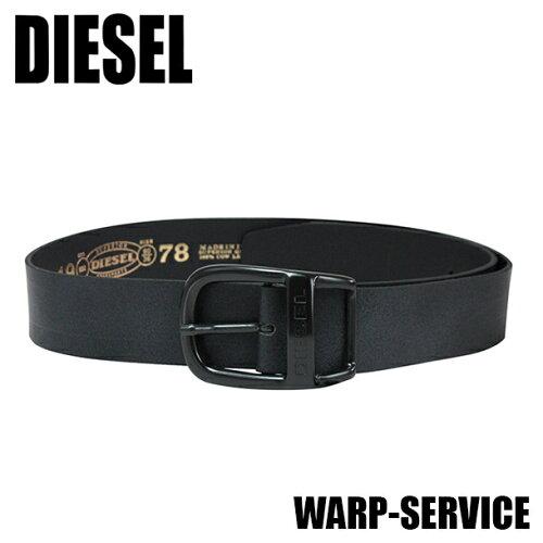 ディーゼル ベルト ブラック DIESEL WAPR-SERVICE 00CQYA 00DJZ 900 【...
