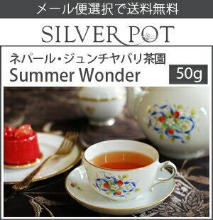 【メール便選択で送料無料】[紅茶]ネパール・セカンドフラッシュ2017年ジュンチヤバリ茶園Summer Wonder(50g)
