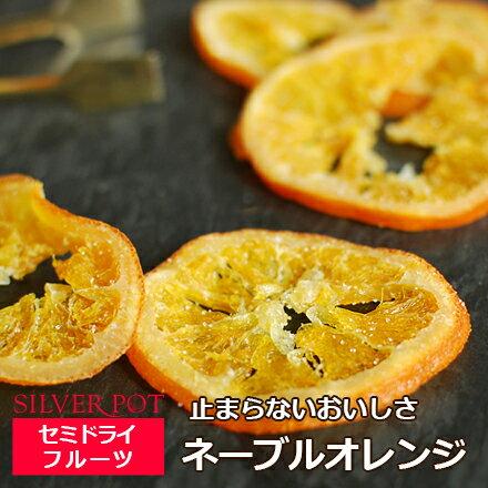セミドライフルーツ ネーブルオレンジ 90g お茶請けに太陽のおいしさを。