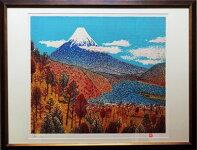 【山下清】「日本平からの富士」(ジクレ)12号大額装【書画肆しみづ】