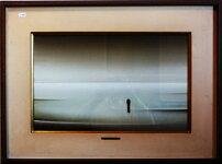 【吉村保三】「失われた時−マルセルプルーストに捧ぐ」油絵(キャンバス・油彩)10号額装【楽天・書画肆しみづ】