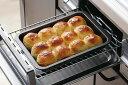 グリルdeクック マルチパンワイド 日本製 グリル 調理トレー オーブン フッ素樹脂加工 フッ素加工 グラタン 煮込み 時短料理 ラクラク ちぎりパンパン焼き フレンチトースト ギョーザ下村企販 燕三条